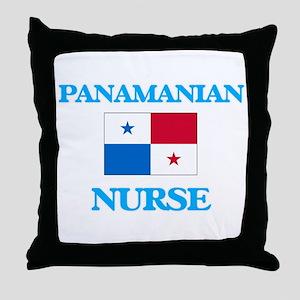 Panamanian Nurse Throw Pillow