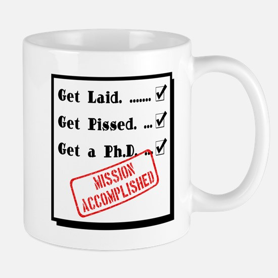 Graduation - Mission Accomplished Mug