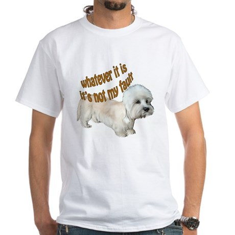Dandie Dinmont Fault White T-Shirt