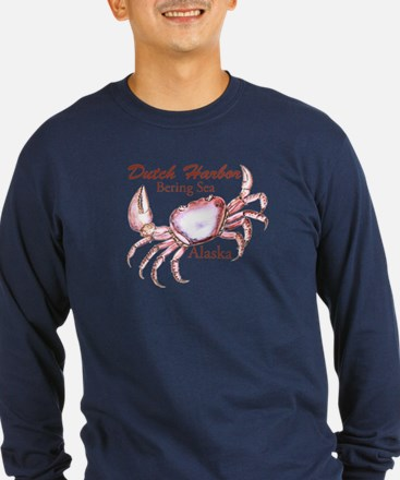 2-dutch harbor 1 fixed dk Long Sleeve T-Shirt
