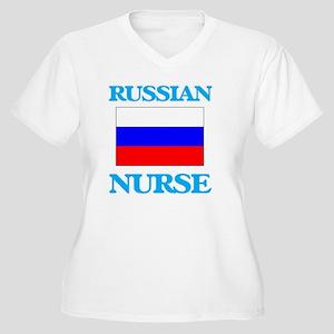 Russian Nurse Plus Size T-Shirt