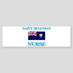 Saint Helenian Nurse Bumper Sticker