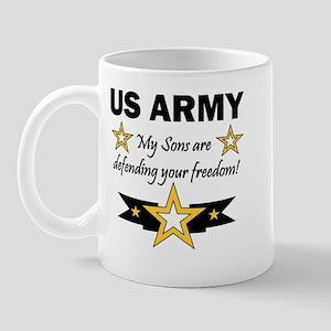 My Sons are defending Mug