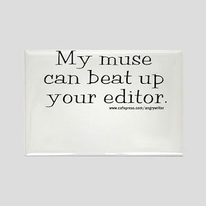 Violent Muse (Editor) Rectangle Magnet