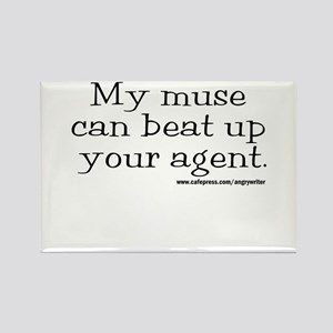 Violent Muse (Agent) Rectangle Magnet