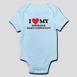 I Love my Insurance Sales Consultant Body Suit