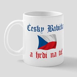 Proud Cesky Babicka Mug