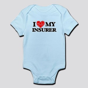 I Love my Insurer Body Suit