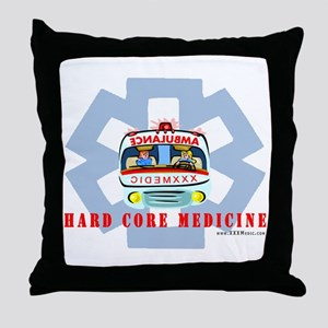 Ambulance Paramedic Throw Pillow