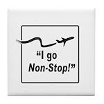 I Go Non-Stop! Tile Coaster