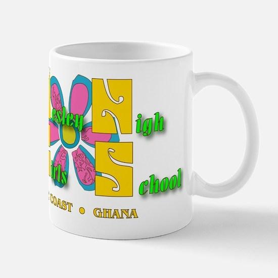 Wesley Girls WGHS Psychedelic Mug