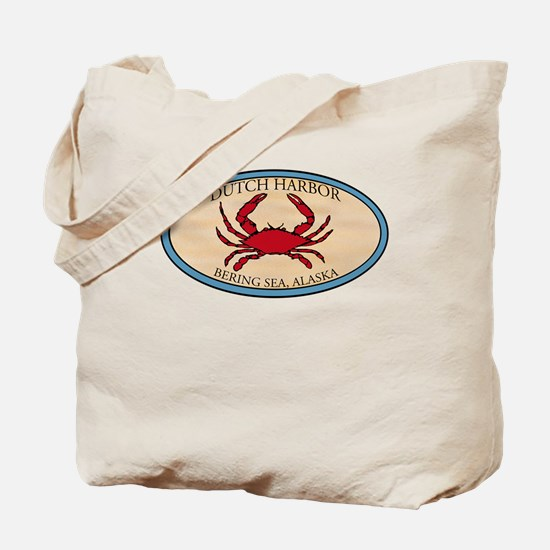 Dutch Harbor Crab Fishing 4 Tote Bag
