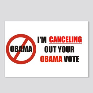 CANCEL OBAMA OUT Postcards (Package of 8)