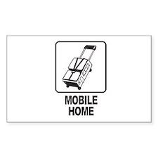 Mobile Home Rectangle Sticker