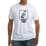 Mobile Home Fitted T-Shirt