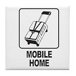 Mobile Home Tile Coaster