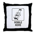 Mobile Home Throw Pillow