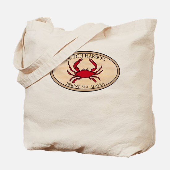Crab Fishing Alaska Tote Bag