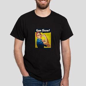 Rosie Riveter Gun Show Dark T-Shirt