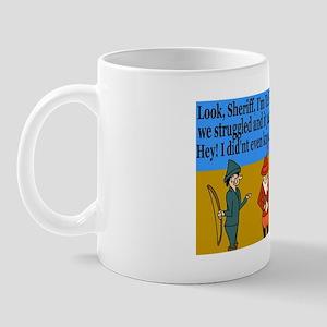 Accident...Hosnest Mug
