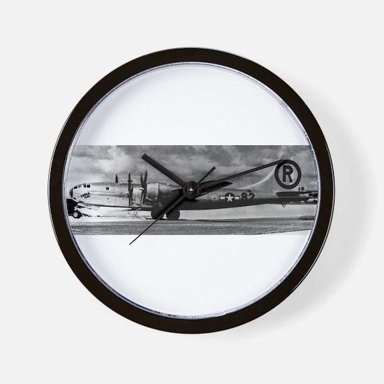 Enola Gay B-29 Superfortress Wall Clock