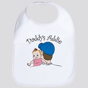 Daddy's Addie bib