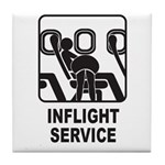 Inflight Service Tile Coaster