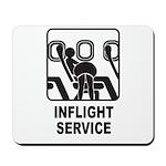 Inflight Service Mousepad