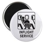Inflight Service Magnet