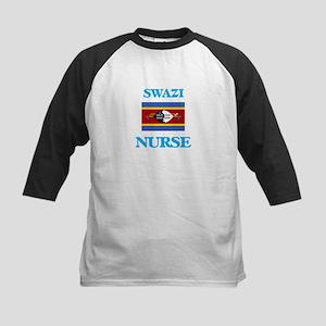 Swazi Nurse Baseball Jersey