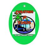 Christmas In Florida Ornament Trailer Park