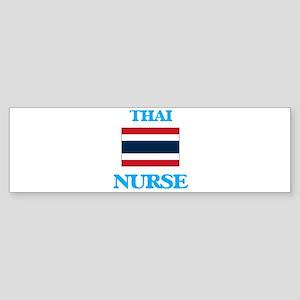 Thai Nurse Bumper Sticker