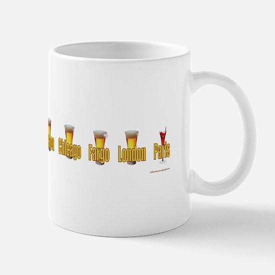 Cute Funny north dakota Mug