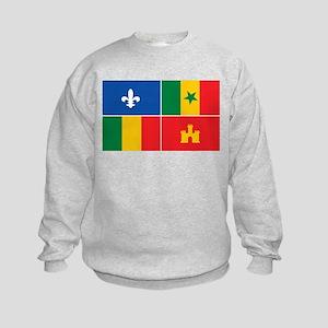 Creole Flag Kids Sweatshirt