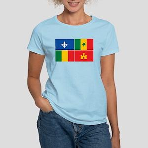Creole Flag Women's Light T-Shirt