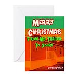 Merry Christmas Trailer Cards