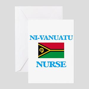 Ni-Vanuatu Nurse Greeting Cards