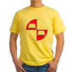 Blaiddwyn Populace Badge Yellow T-Shirt