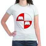Blaiddwyn Populace Badge Jr. Ringer T-Shirt