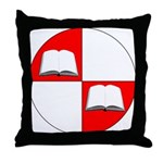 Blaiddwyn Populace Badge Throw Pillow