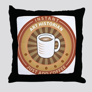 Instant Art Historian Throw Pillow