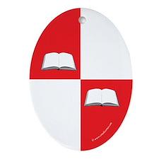 Blaiddwyn Populace Badge Oval Ornament