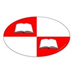 Blaiddwyn Populace Badge Oval Sticker (50 pk)