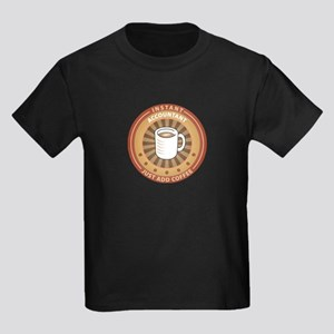 Instant Accountant Kids Dark T-Shirt