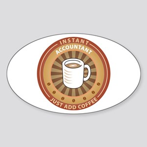 Instant Accountant Oval Sticker