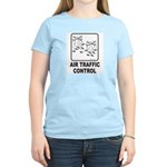 Air Traffic Control Women's Pink T-Shirt