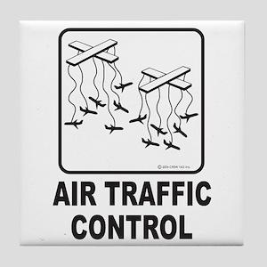 Air Traffic Control Tile Coaster