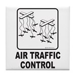 Air Traffic Control Tile Coaster