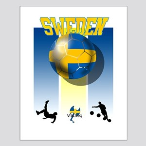 Swedish Football Small Poster