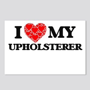 I Love my Upholsterer Postcards (Package of 8)